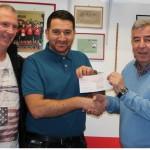 Türkiyemspor Neheim-Hüsten erhält Geldbetrag für die Integrationsarbeit