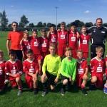 U12-Auswahl in der Sportschule Kaiserau
