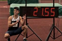 Oliver Ollesch mit 200m Bestzeit