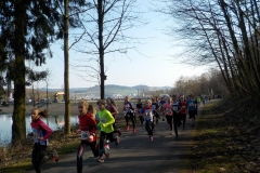 Start 2 km Jugendlauf