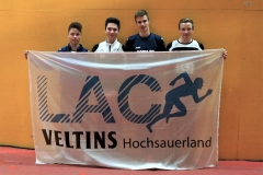 v.li Timm Bünner, Eric Irmler, Lukas Klemenz u. Steffen Brüggemann in Köln