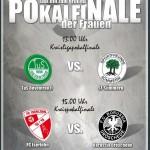 Kreisligapokalfinale und Kreispokalfinale der Frauen am Pfingstmontag beim SV Bachum/Bergheim
