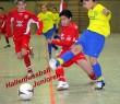 Datteln, 19.11.06: U 13 Junioren Hallenfußball - Turnier, Fortuna Düsseldorf (in rot) - Hombrucher SV 4:1,  Foto Rainer Raffalski