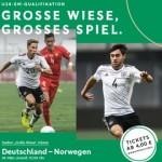 Zwei U19-EM-Qualifikationsländerspiele im Stadion Große Wiese in Arnsberg-Hüsten