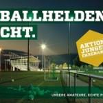 """""""Fussballhelden – Aktion junges Ehrenamt"""" – Der Förderpreis des DFB für junge Ehrenamtliche"""
