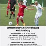 Anwärterlehrgang für Fußballschiedsrichterinnen / Fußballschiedsrichter im FLVW Kreis Arnsberg