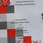 Drei persönliche Bestleistungen am 19.7.2019 in Hemer