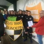Große Auszeichnung für die U17 vom TuS Sundern