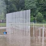 Unwetter richtet auch voraussichtlich Schäden an einigen Sportanlagen im FLVW Kreis Arnsberg an