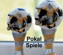 Qualifikationsturnier für den Herbst Cup der u10 JFussballern: Die Pokale für die Sieger stehen bereit.